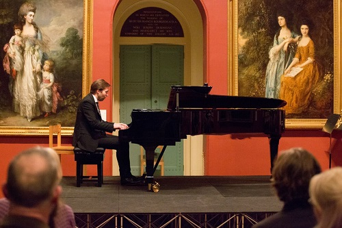 Andsnes at the Dulwich Picture Gallery