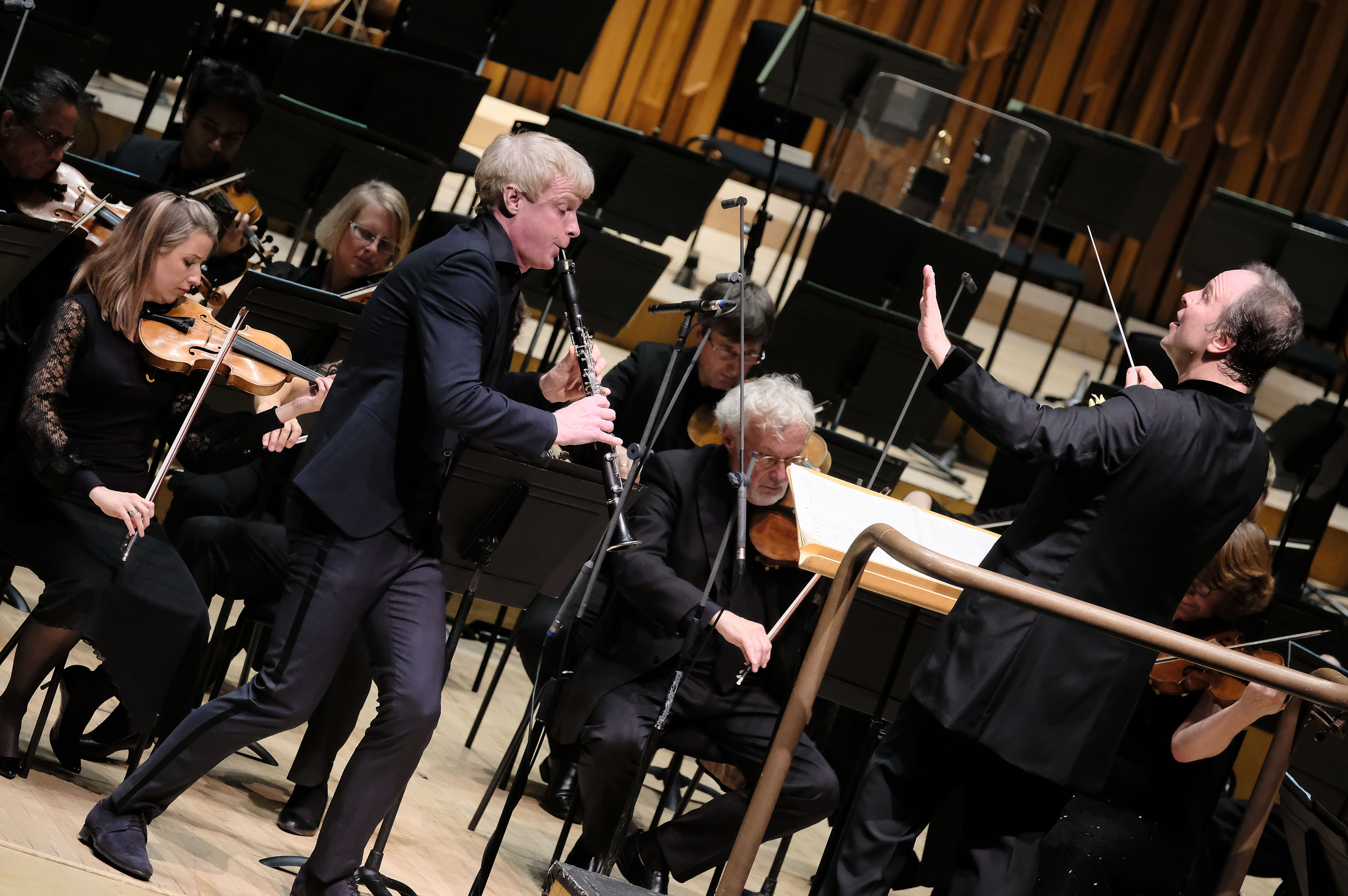 Martin Frost, Sakari Oramo and the BBC Symphony Orchestra
