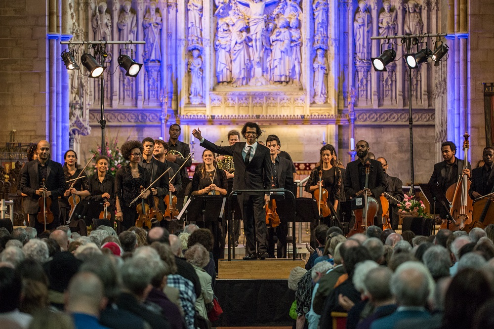 Chineke! Orchestra and Jonathon Heyward in Hove