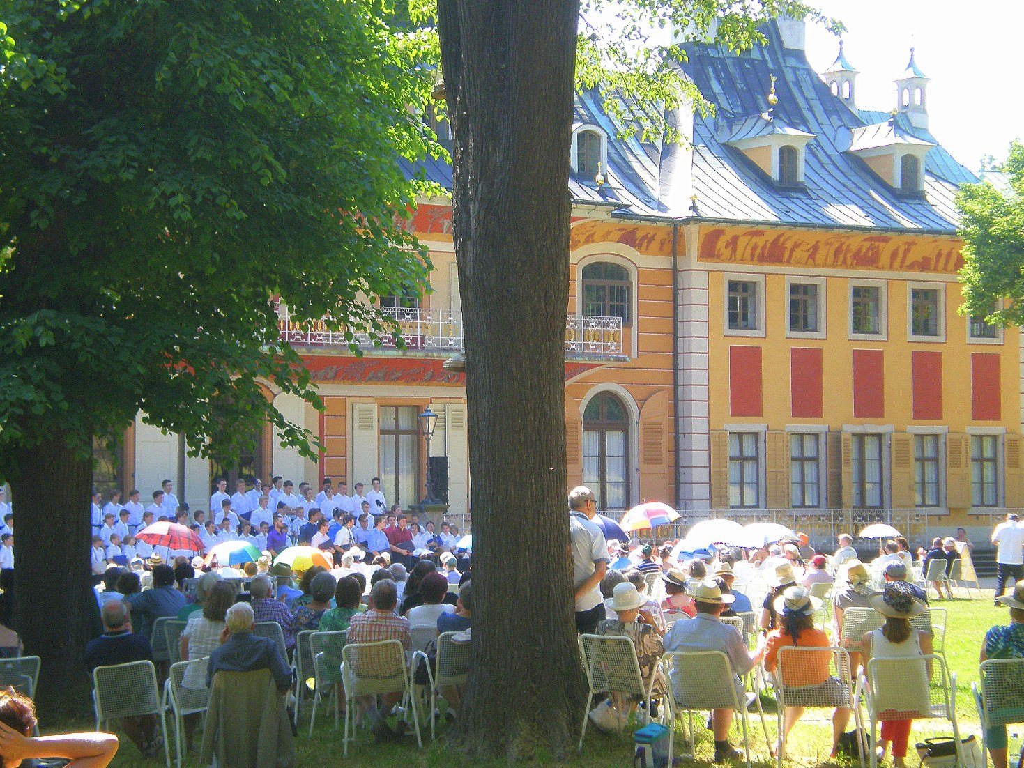 Kreuzchor concert at Pillnitz