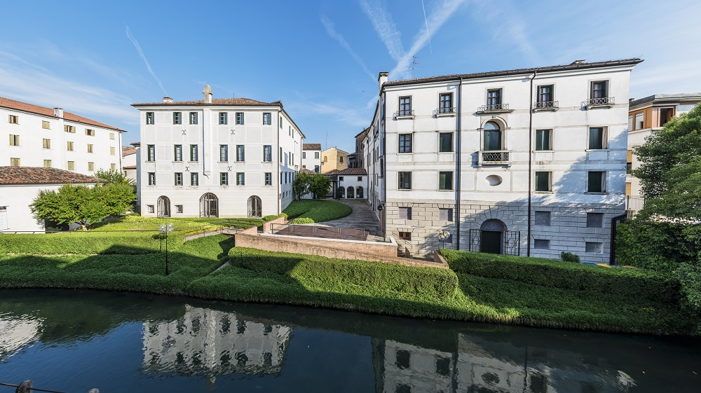 Fondazione Benetton's two buildings in Treviso