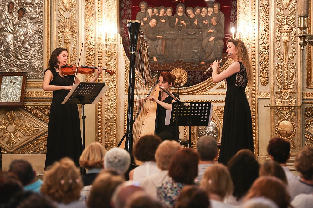 Morning recital of Istanbul Festival 'Music Route'