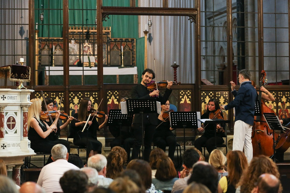 Istanbul Chamber Orchestra in the Crimean Memorial Church