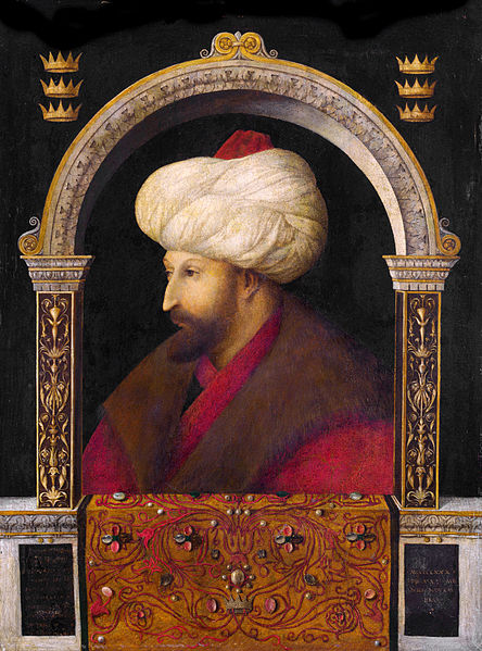 Mehmet II attributed to Gentile Bellini