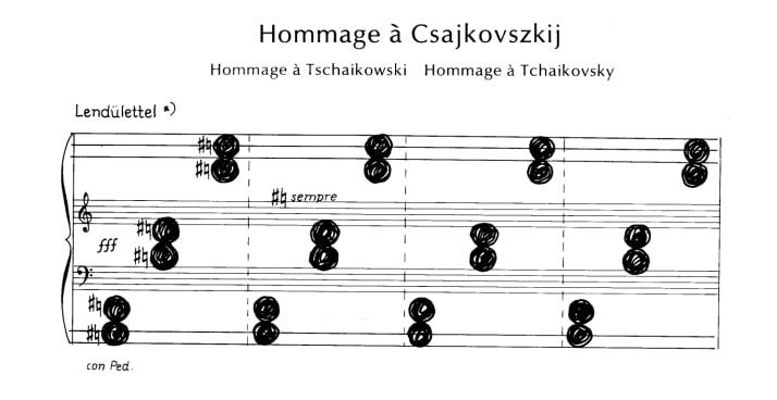 Kurtag Hommage a Tchaikovsky
