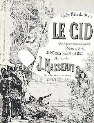 Original poster for Le Cid