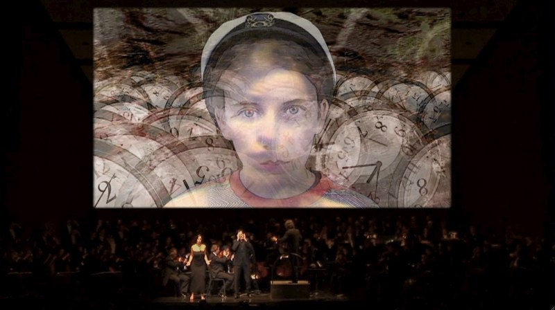 Jean-Baptiste's Ravel video projections in 2007