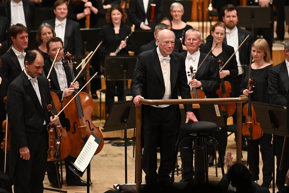 Haitink takes a bow