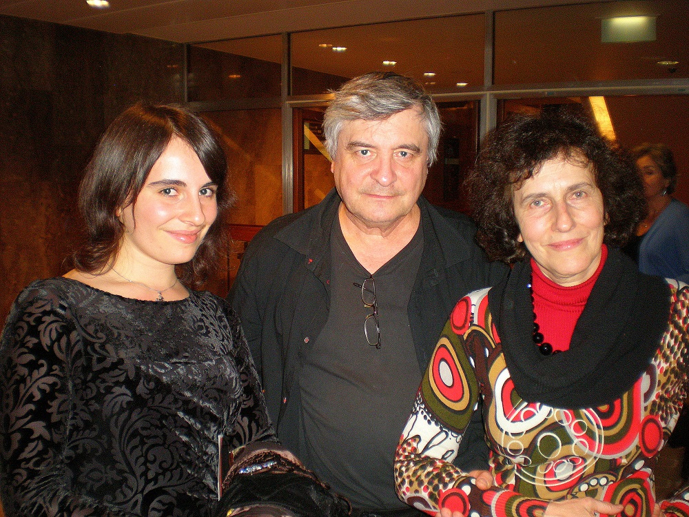 Alissa Firsova, Dmitri Smirnov and Elena Firsova