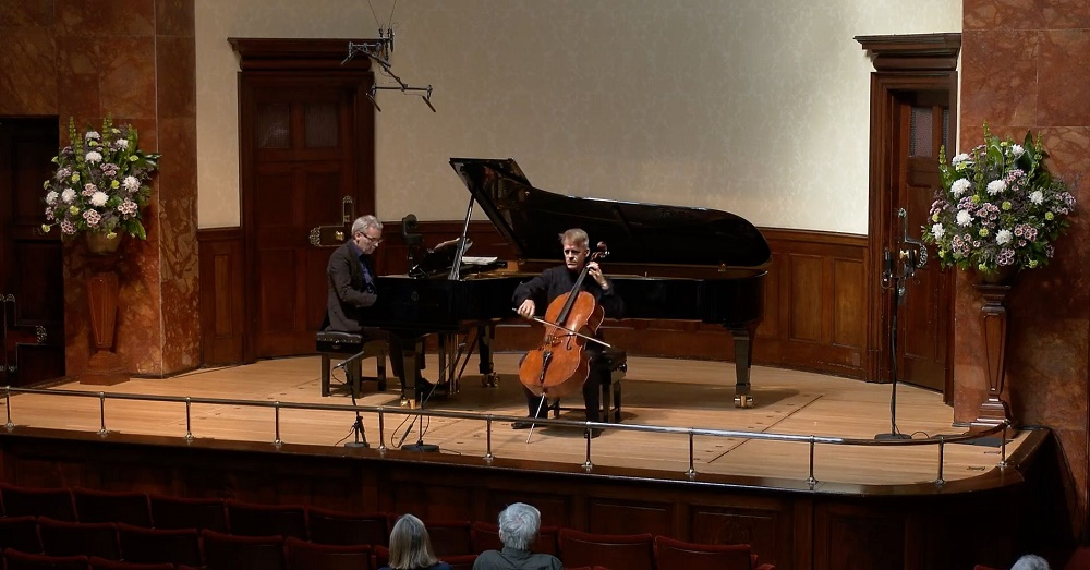 Gerhardt and Becker at the Wigmore Hall