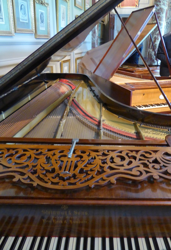 Steinway piano in Cobbe Collection