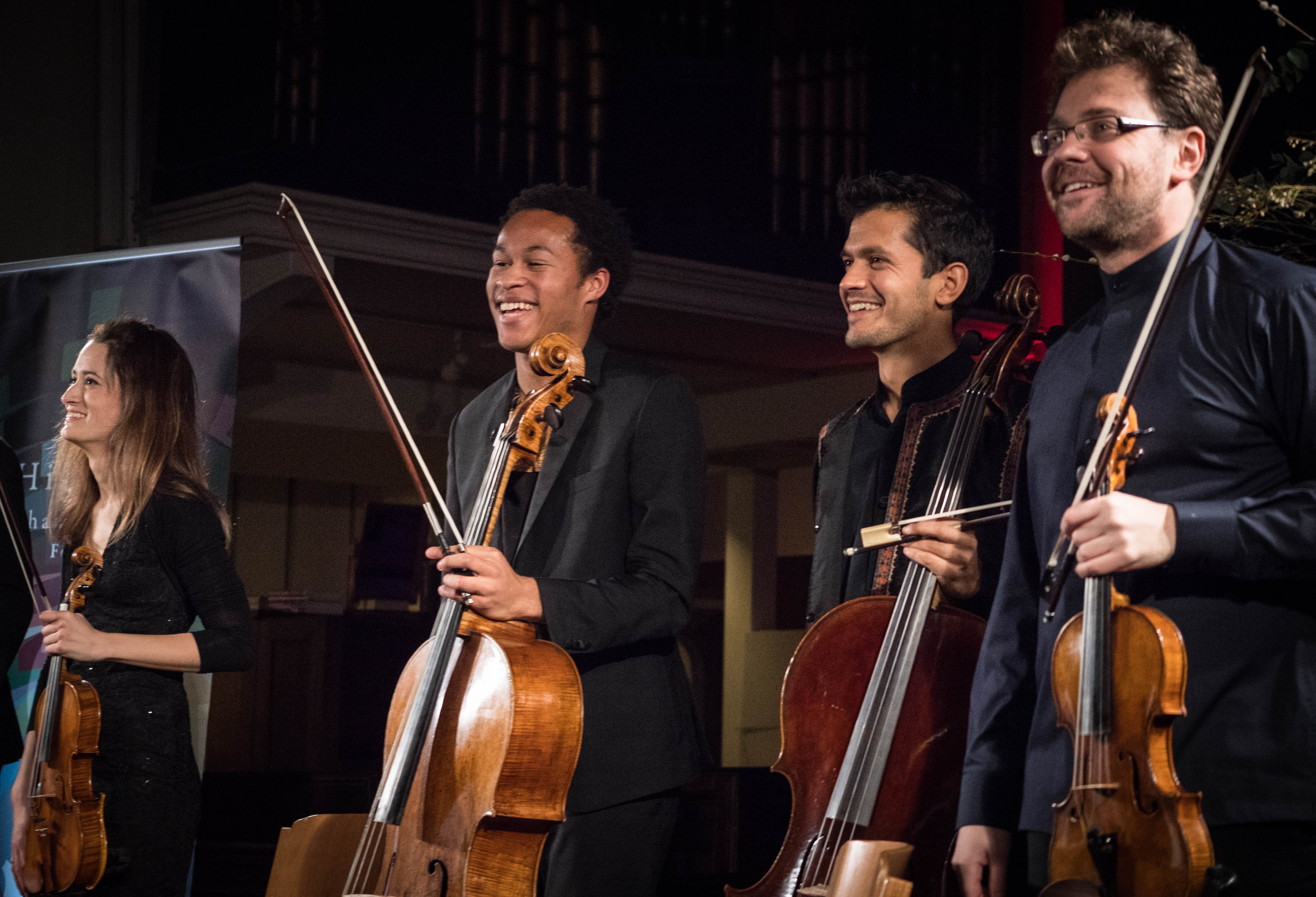 Sheku Kanneh-Mason and friends in Highgate