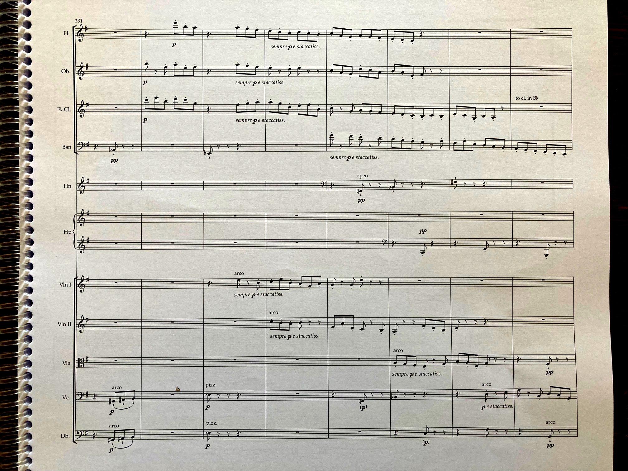 Joseph Phibbs' score for