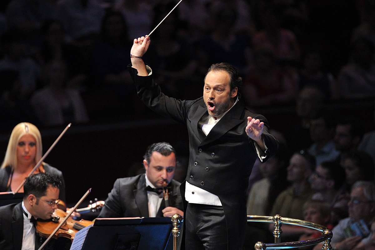 Sascha Goetzel at the Proms