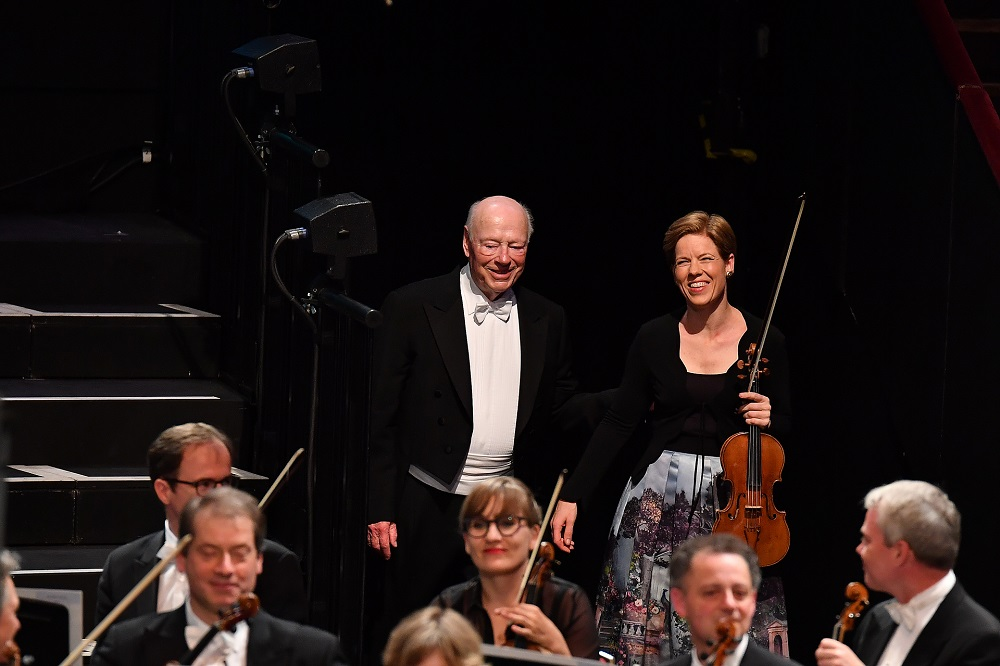 Bernard Haitink and Isabelle Faust at the Proms