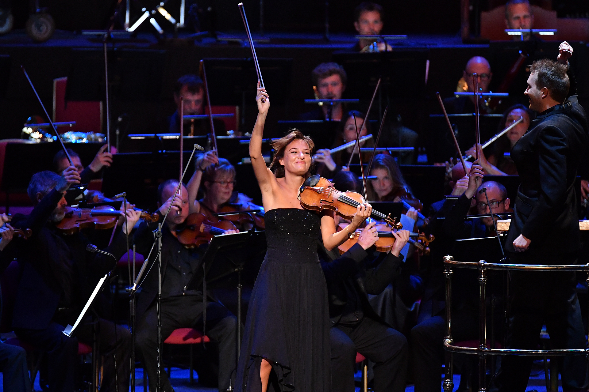 Nicola Benedetti at the Young Musician Prom
