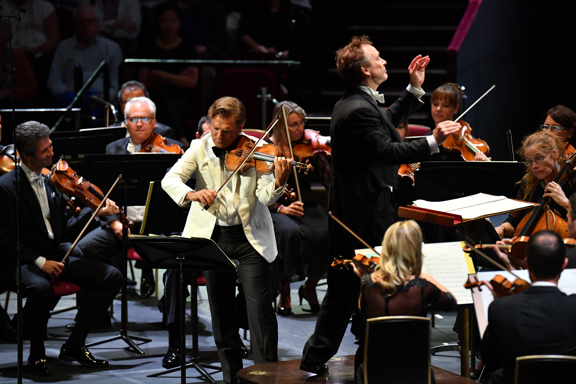 Capucon and Nott in Ravel at the Proms