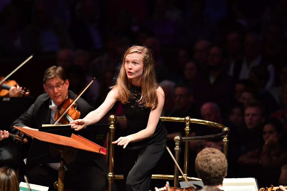 Mirga Grazynyte-Tyla at the Proms