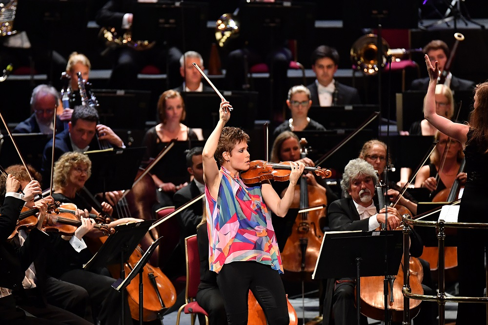 Leila Josefowicz at the Proms