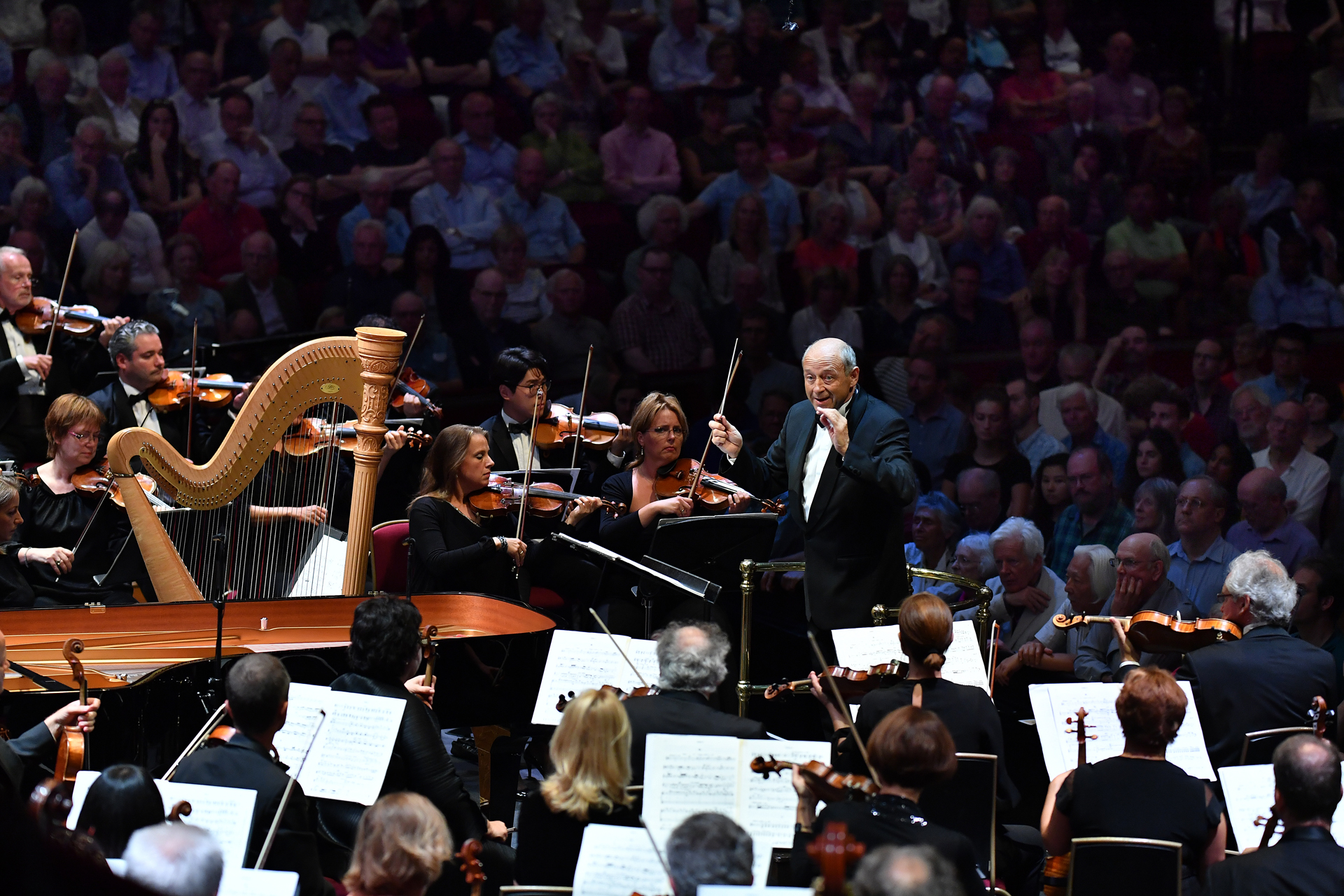 Fischer and the Budapest Festival Orchestra at the Proms