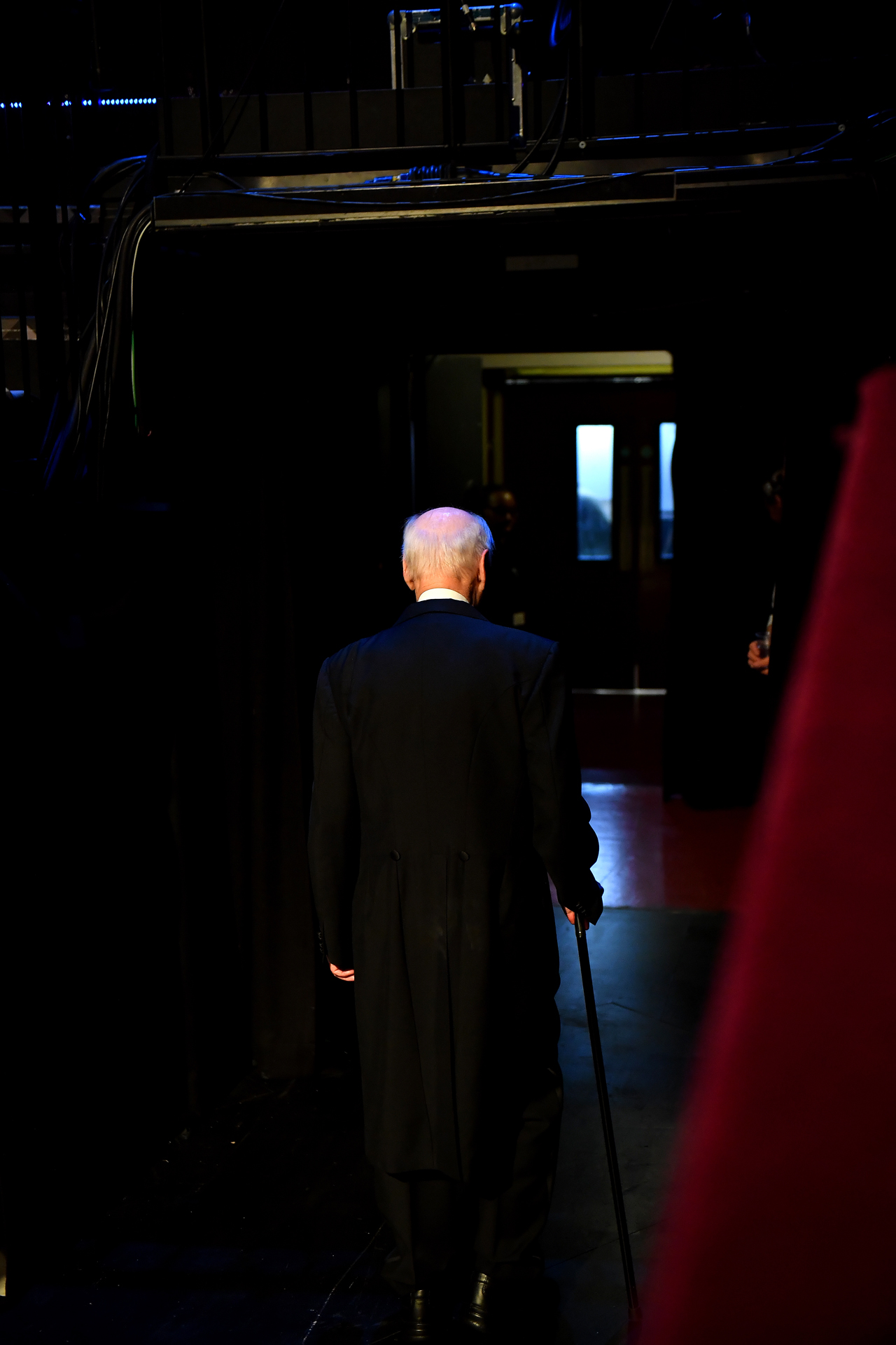 Haitink leaving the Proms platform