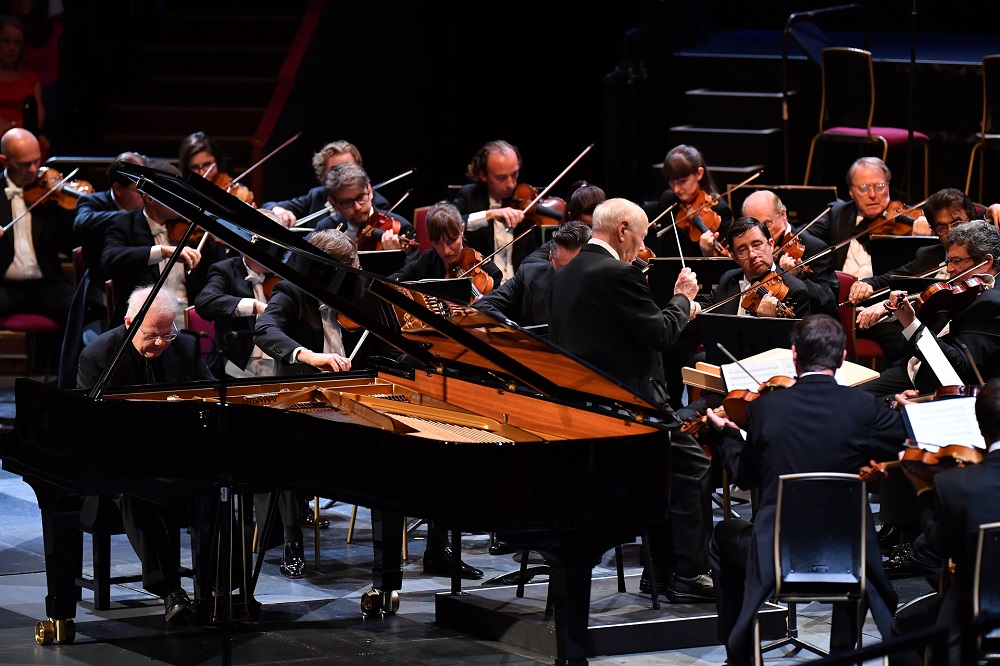 Emanuel Ax and Haitink at the Proms