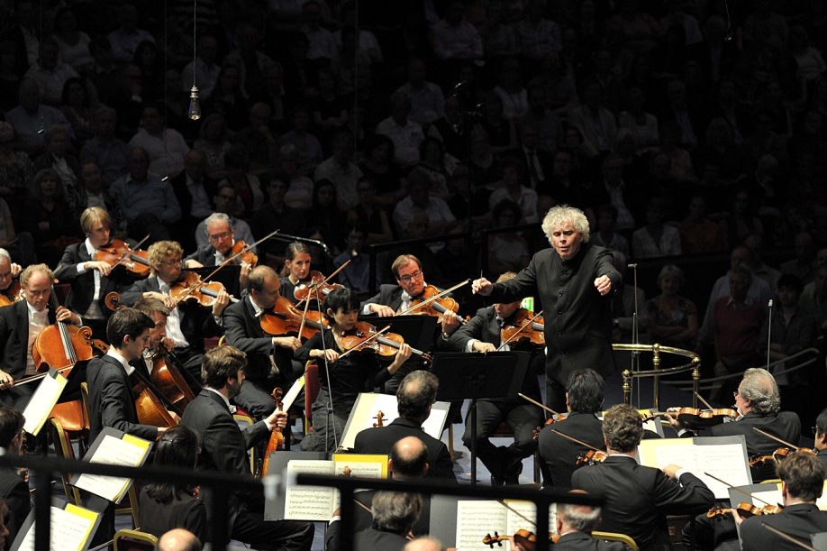 Rattle and the Berlin Phil at the Proms