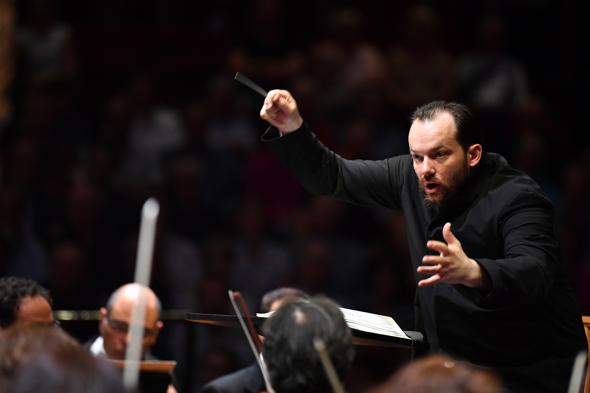 Andris Nelsons at the BBC Proms