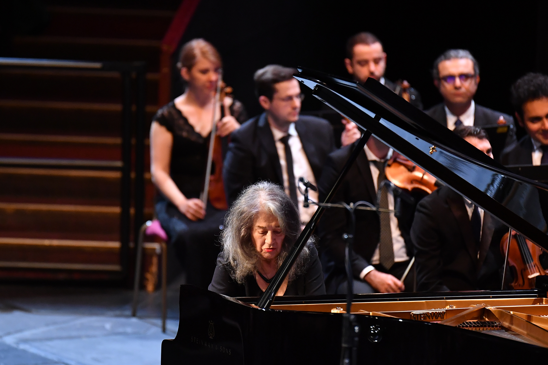 Martha Argerich at the Proms