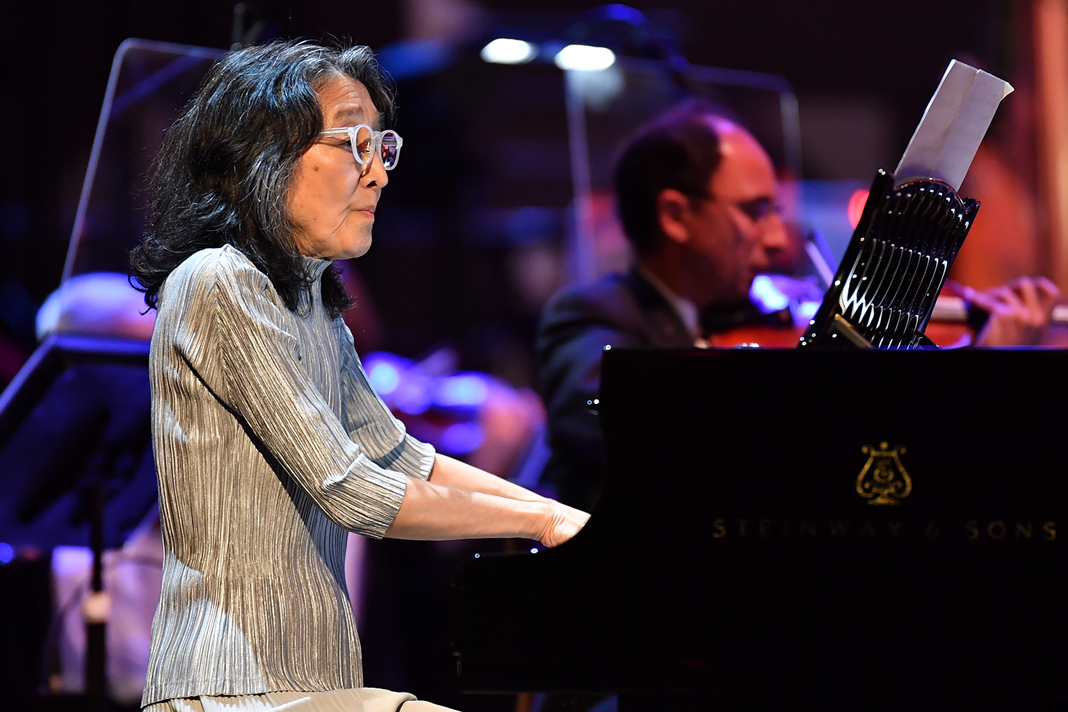 Mitsuko Uchida at the Proms