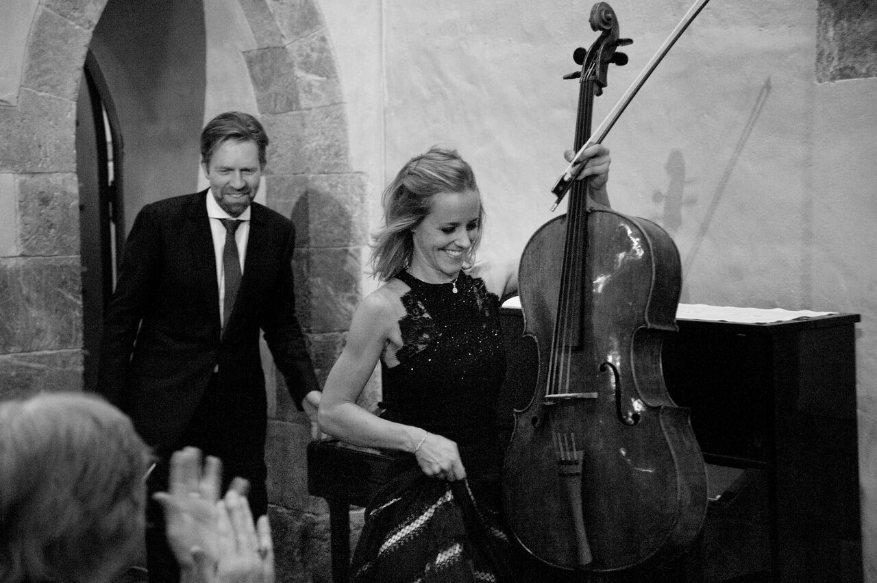 Andsnes and Gabetta at Rosendal