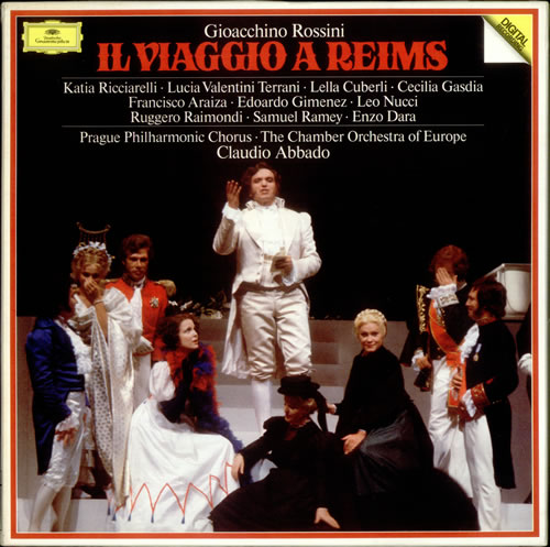 Rossini's Il Viaggio a Reims conducted by Abbado