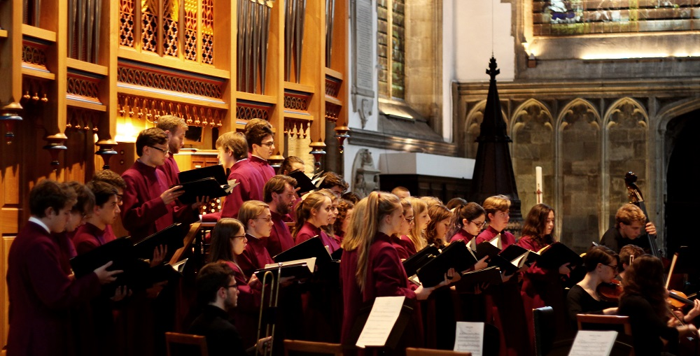 Merton College Choir in Schumann