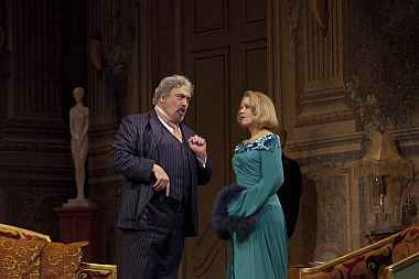 Renee Fleming and Peter Rose in Capriccio at the Met