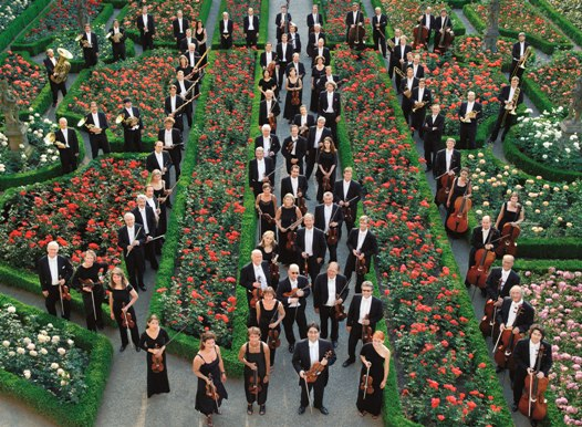 Bamberg Symphony Orchestra in Rose Garden