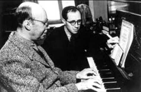 Prokofiev and Rostropovich