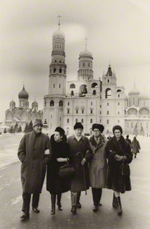 Pears, Rostropovich, Britten and Vishnevskaya in Moscow