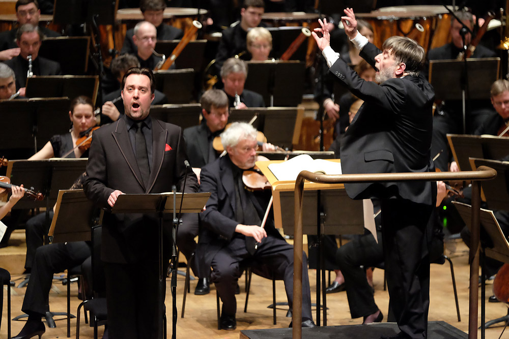 Soar and Davis in Berlioz's Friar Laurence scene