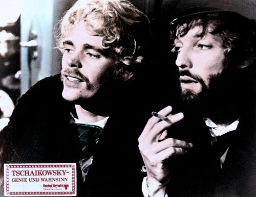 Christopher Gable and Richard Chamberlain in Ken Russell's The Music Lovers