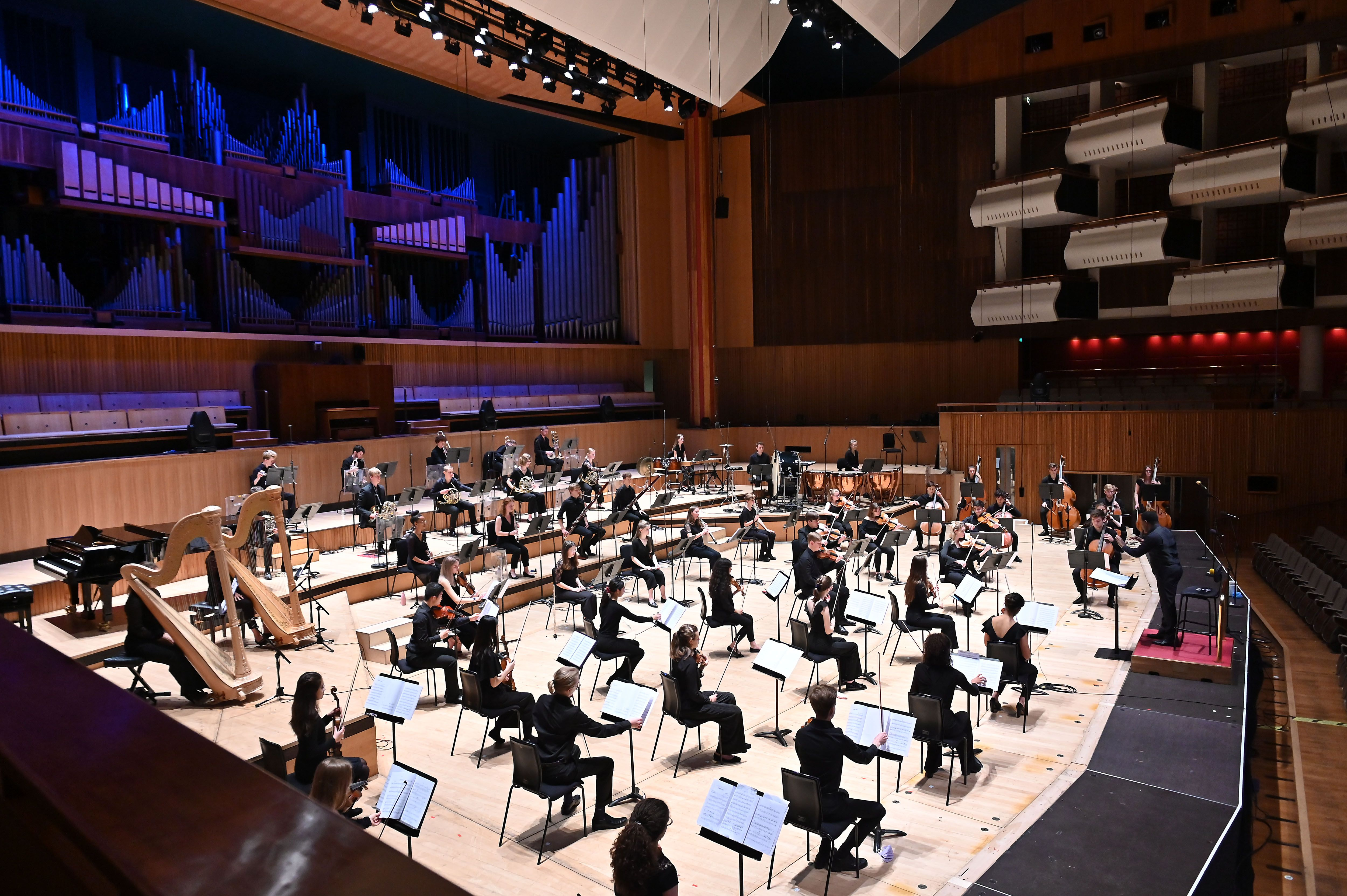 NYO concert at the Royal Festival Hall on 31 July