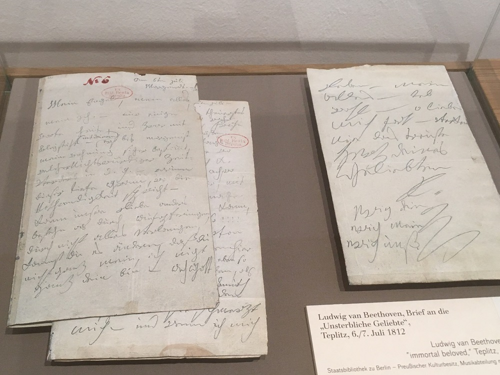 "Beethoven's letter to his ""immortal beloved"""