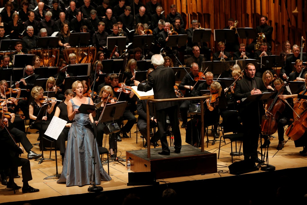 Performance of Gorecki's Second Symphony at the Barbican