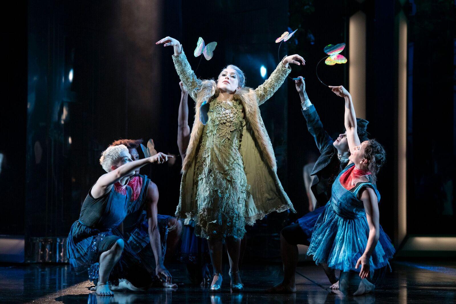 Nina Minasyan as the Fairy Godmother