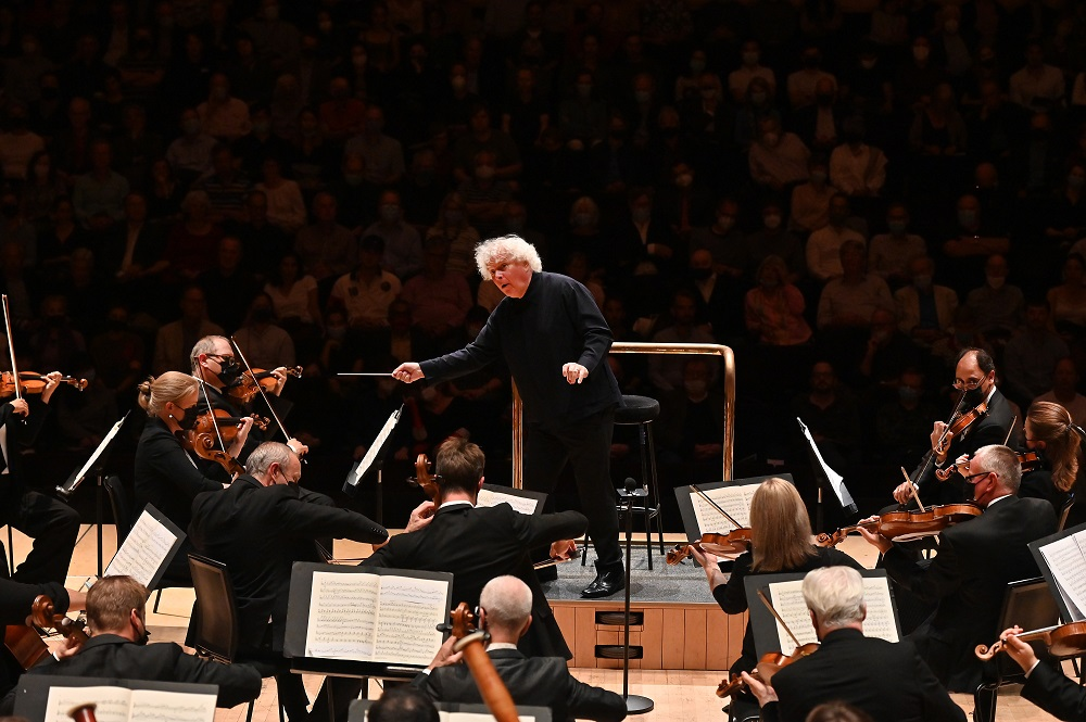 Rattle and the LSO at the Barbican