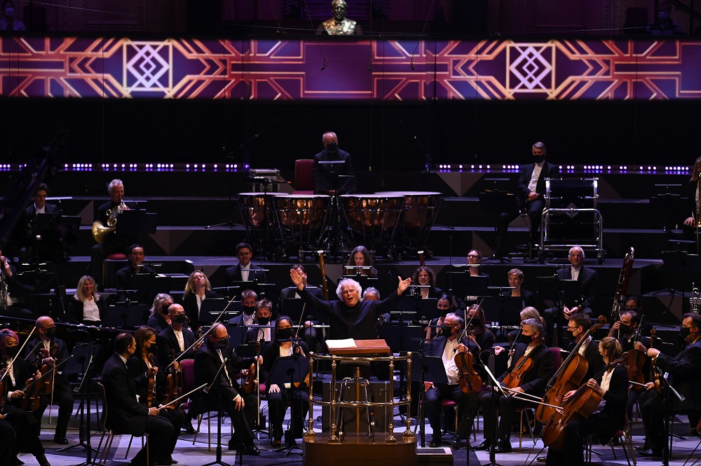 Simon Rattle and the LSO at the Proms