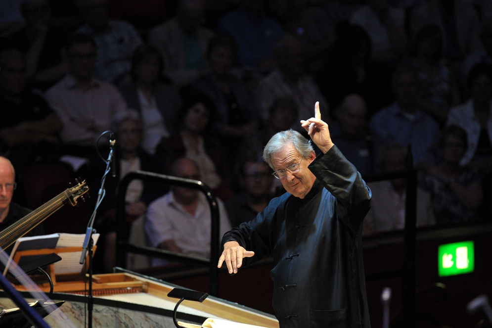 John Eliot Gardiner conducting Proms Orfeo