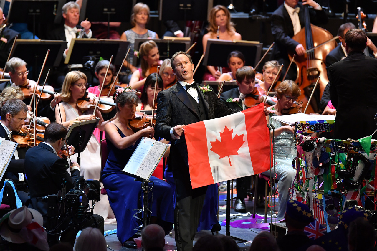 Gerald Finley at the Last Night of the Proms