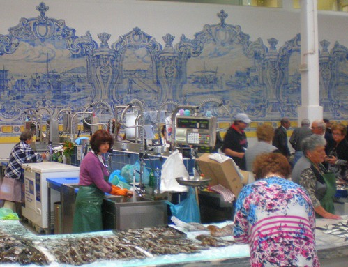 Setubal Fish Market by David Nice