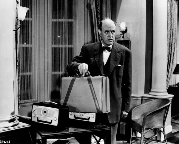 Alistair Sim in The Green Man