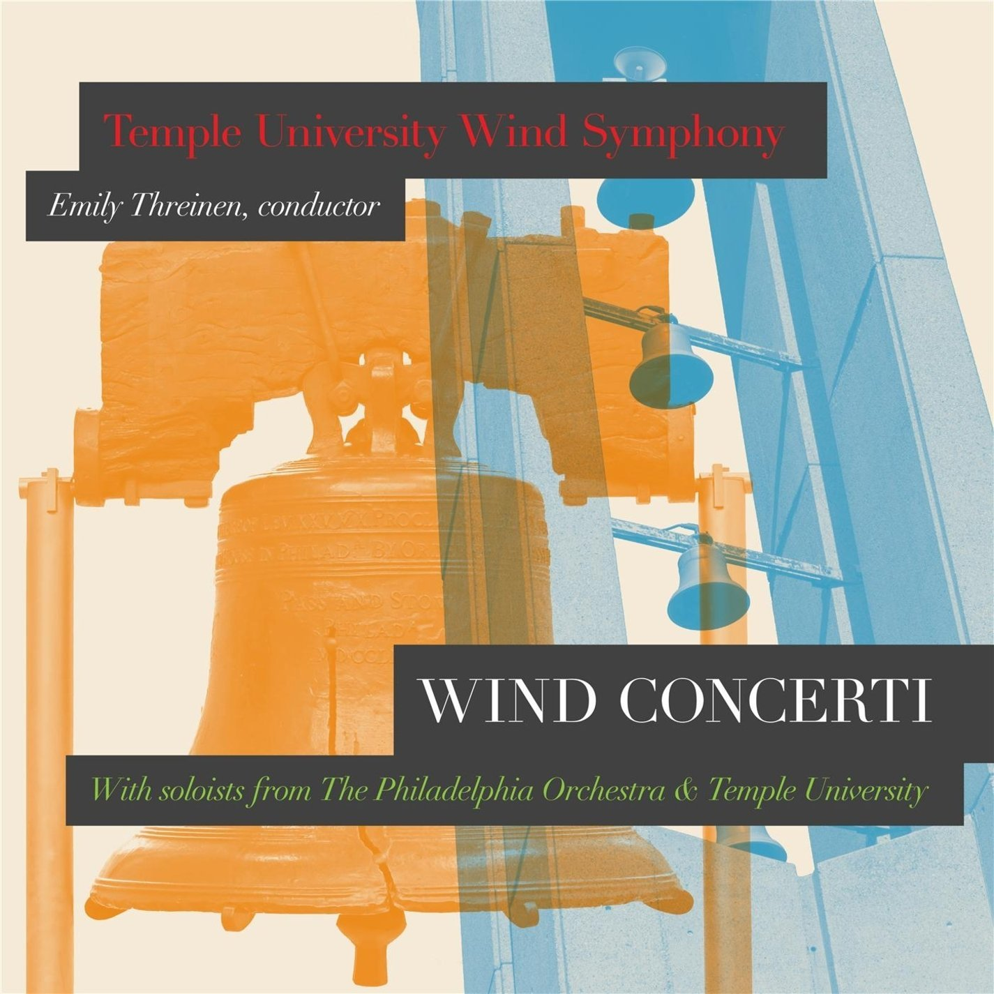 Wind Concerti - Temple University Wind Symphony/Emily Threinen
